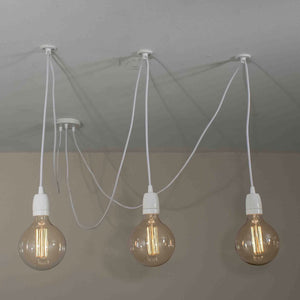 3 Pendant Swag Light - Loewen Design Studios