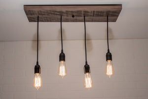 4 pendant light for Kim Benson - Loewen Design Studios