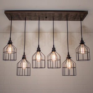 6 pendant light for Claude and Chantelle - Loewen Design Studios