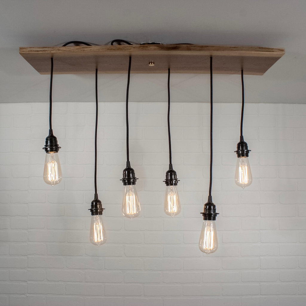 walnut pendant lighting