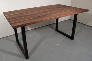 Custom table and bench for Mary and Sam