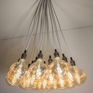 Antique Style Cluster Light - Loewen Design Studios
