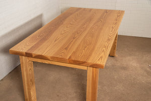 Ash Parsons Table Finished in Bourbon - Loewen Design Studios