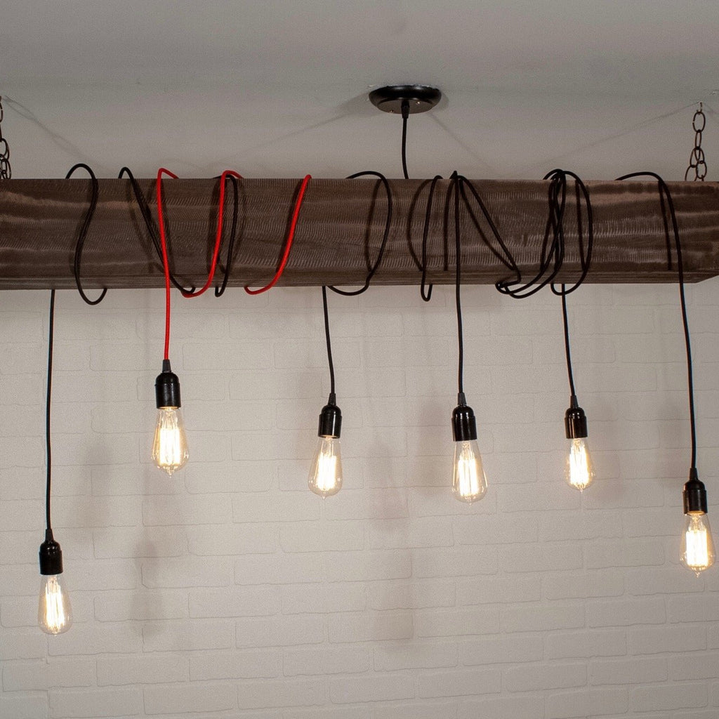Beam Light with Accent Cord - Loewen Design Studios