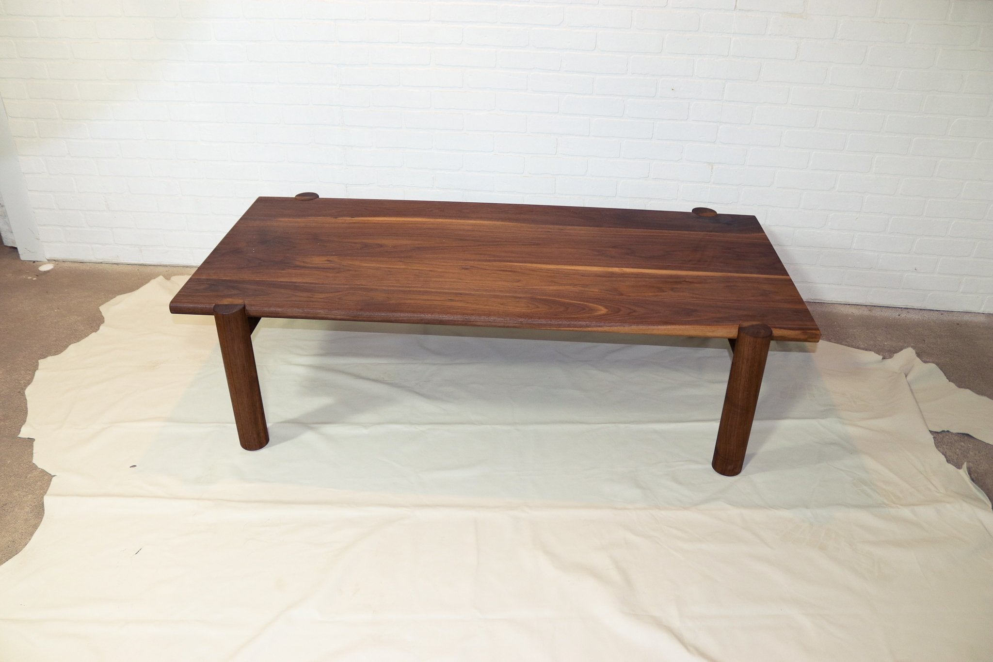 Bullnose Walnut Coffee Table - Loewen Design Studios