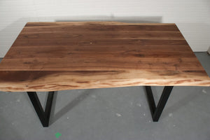 Custom live edge walnut top for Ryan - Loewen Design Studios