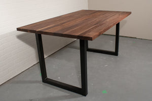 Custom Walnut Dining Table for Kaari - Loewen Design Studios