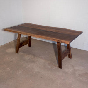 Custom Walnut Dining Table for Lauren - Loewen Design Studios