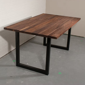 Custom Walnut Table for Jen and Randy - Loewen Design Studios
