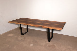 Custom Walnut Table for Kavita - Loewen Design Studios