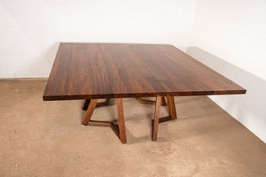 Custom White Oak Table for Ryan - Loewen Design Studios