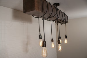 Lighting for restaurant for Gabriel Serba - Loewen Design Studios