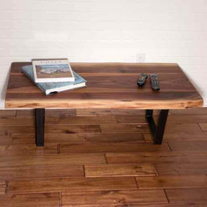 Live Edge Walnut Coffee Table - Loewen Design Studios