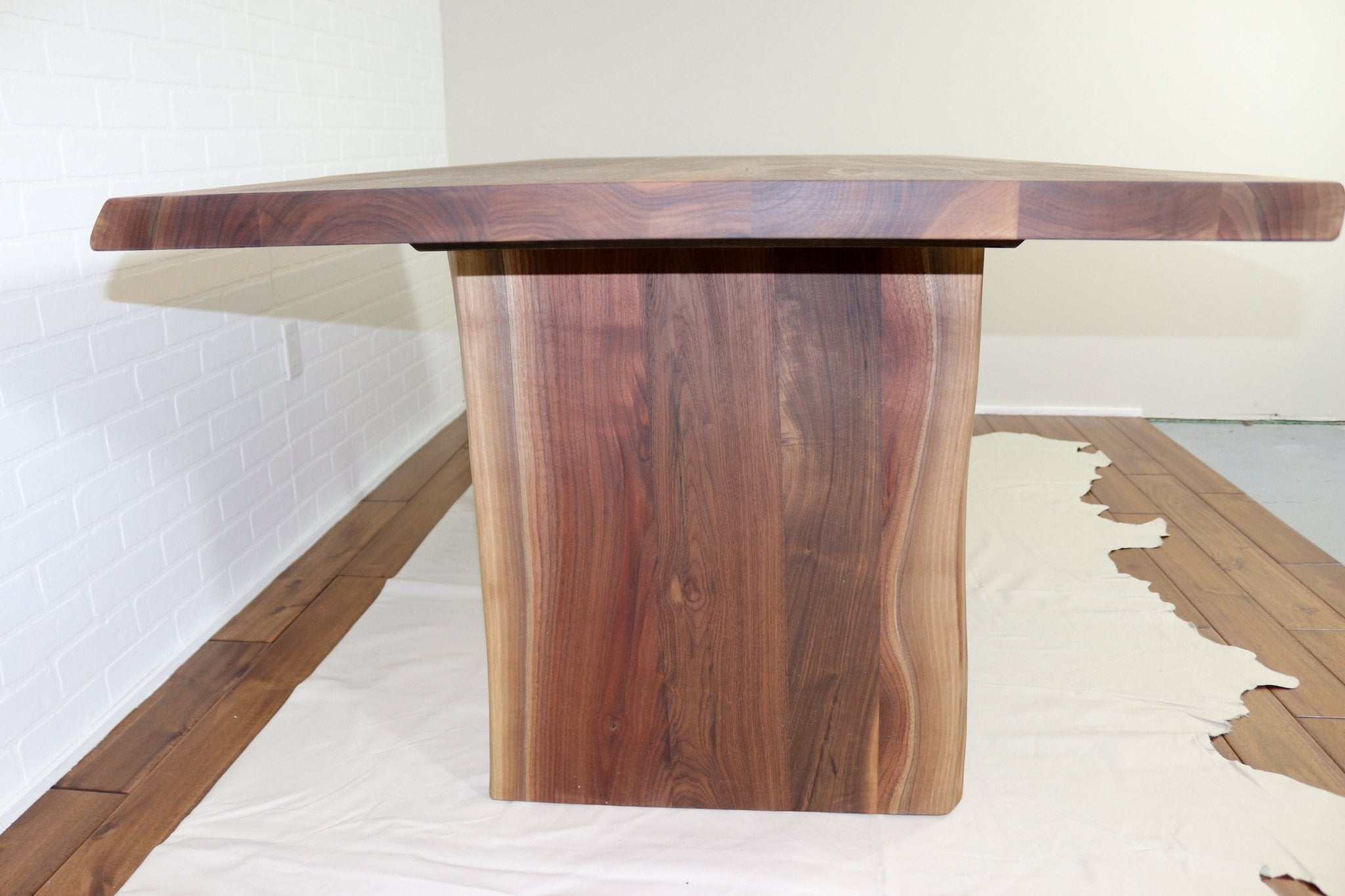 Live Edge Walnut Table - Loewen Design Studios