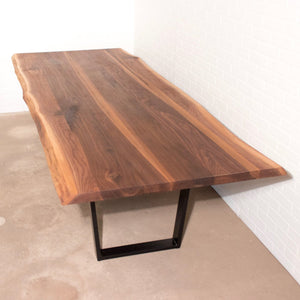 Long Live Edge Walnut Table - Loewen Design Studios
