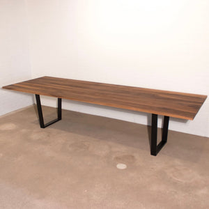 Long Walnut Harvest Table - Loewen Design Studios