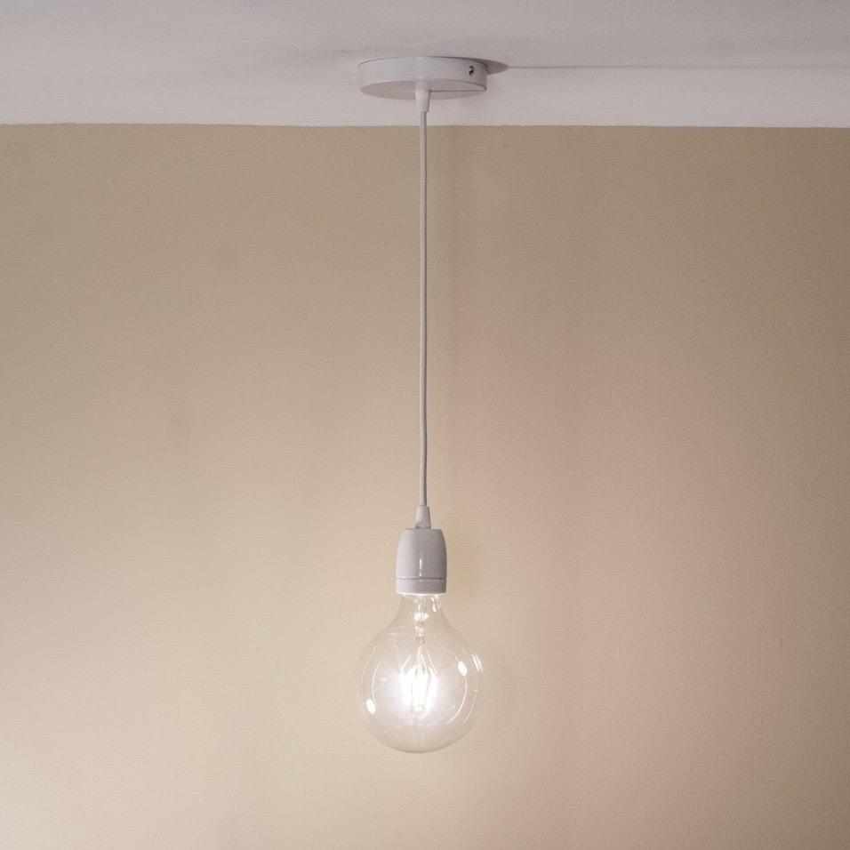 Simple Edison Pendant Light - Loewen Design Studios