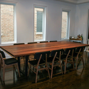 Walnut Conference Table - Loewen Design Studios