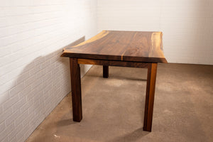 Walnut Parsons Table - Loewen Design Studios