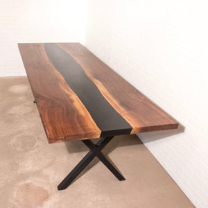 Walnut River Table - Loewen Design Studios