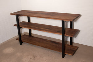 Walnut Shelving - Loewen Design Studios