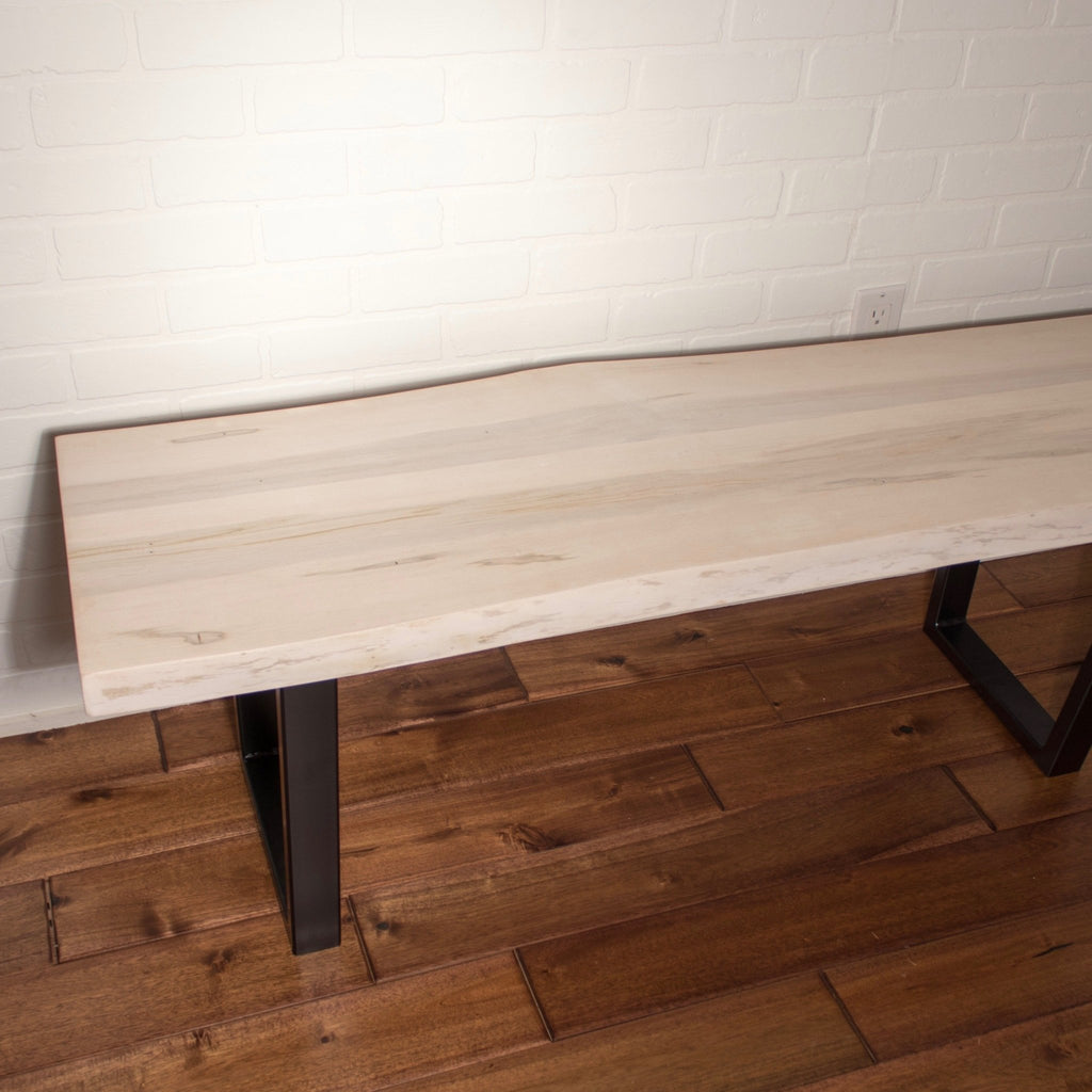 Whitewash Bench - Loewen Design Studios