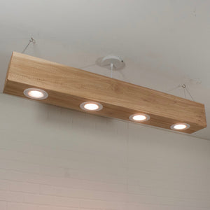 Wood Beam LED Lighting - Loewen Design Studios