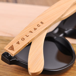Custom Engrave Bamboo Sunglasses With Your Logo