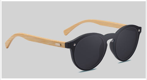 RTBOFY Stylish ecofriendly bamboo sunglasses