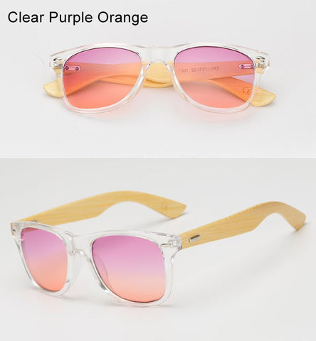 Ralferty Transparent Frame and Candy Colored Lenses