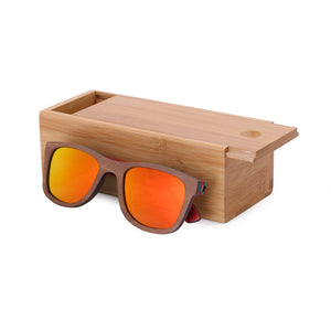 BerWer Bamboo Sunglasses with Colored Lenses-Sunglasses-Bamboo Sunnies