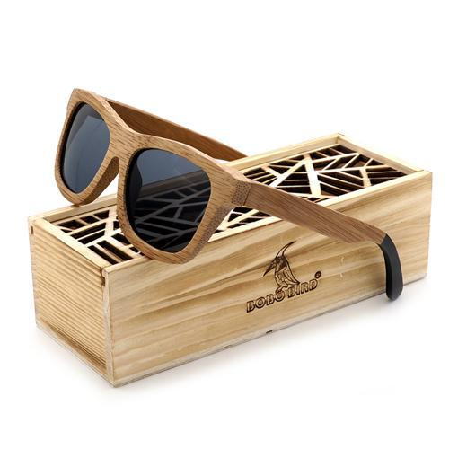 BOBO BIRD Bamboo Sunglasses with Polarized Lenses-Sunglasses-Bamboo Sunnies
