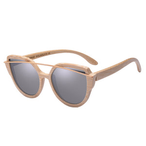 AOFLY Modern Bamboo Sunglasses with Polarized Lenses-Sunglasses-Bamboo Sunnies