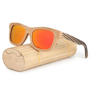BOBO BIRD 2017 Top Brand Fashion Simple Style Sunglasses For Women And Men Bamboo & Zebra Wooden-Sunglasses-Bamboo Sunnies