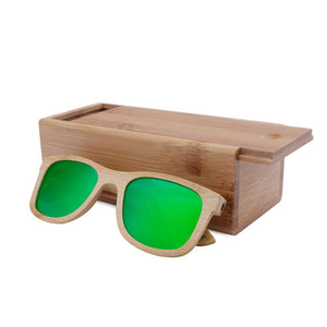 BerWer Bamboo Sunglasses with UV400 Polarized Lenses-Sunglasses-Bamboo Sunnies