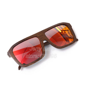 BerWer Bamboo Sunglasses with Polarized Lenses-Sunglasses-Bamboo Sunnies