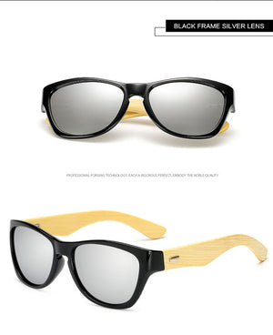 Long Keeper Trendy Bamboo Sunglasses with Photochromic UV400 Lenses-Sunglasses-Bamboo Sunnies