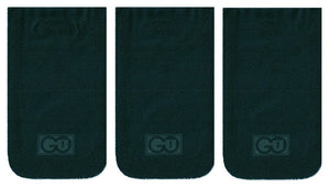 Matte Black GO POCKET 3 Pack - Size Small