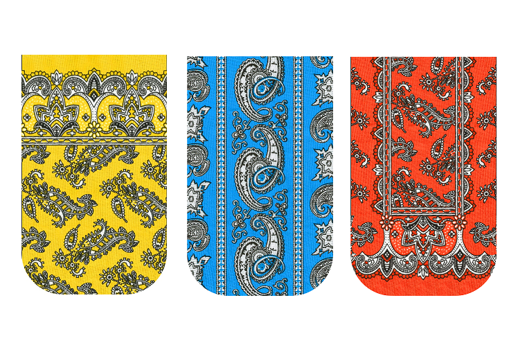Bright Bandanas GO POCKET 3 Pack