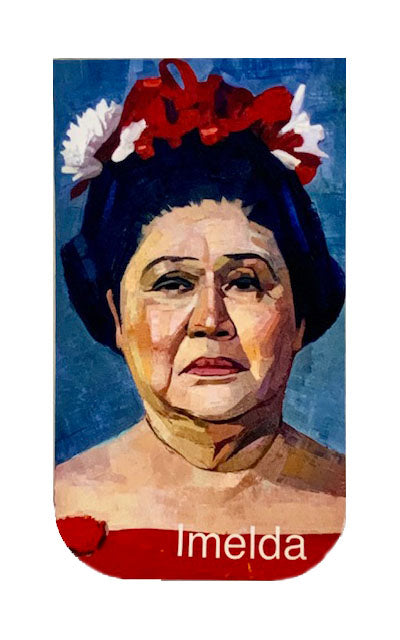 Imelda - Art Pocket Size Medium - by Jane Fisher. Limited Edition