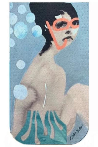 Lady Underwater by Marie Van Elder GO POCKET
