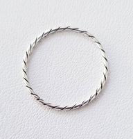 Fine Ropes Band Ring