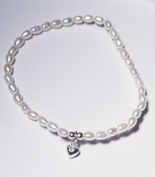 Thinking in you with pearls Bracelet