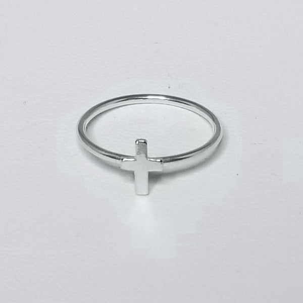Tiny Cross Ring