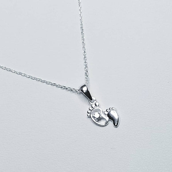 Baby Feet Necklace
