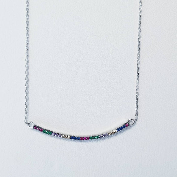 Colorsmile Bar   Necklace
