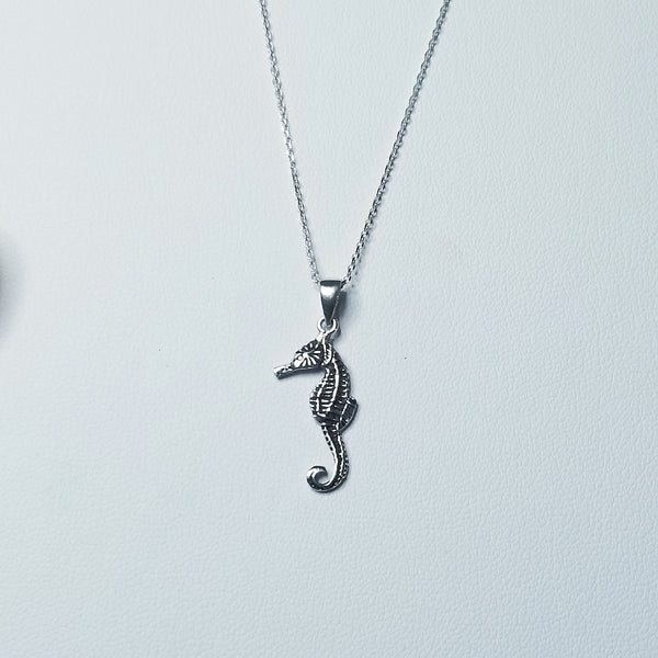 Real Seahorse  Necklace
