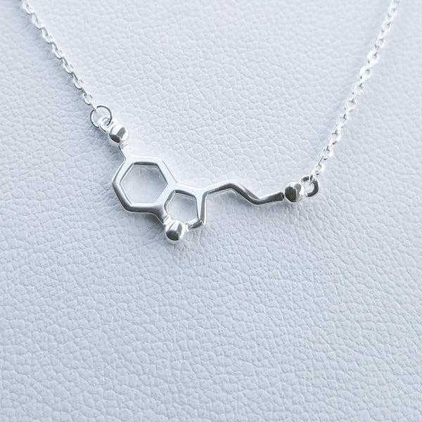 Happiness Molecule Necklace