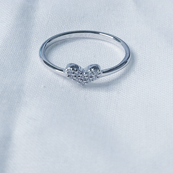 Shine Love CZ Ring
