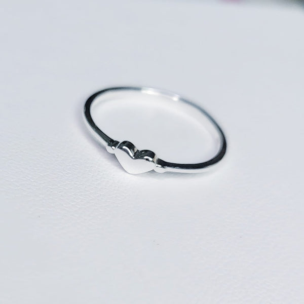 Sterling Silver Heartland Ring